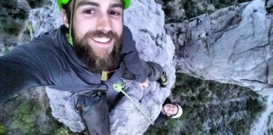 A picture from El Potrero Chico by ClimbAID Beat