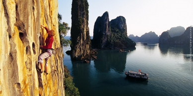 A picture from The Face, Ha Long Bay, Vietnam by David Kaszlikowski