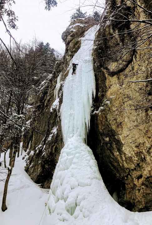 A picture from Ice-climb Slovakia by Jozef Ďuronka