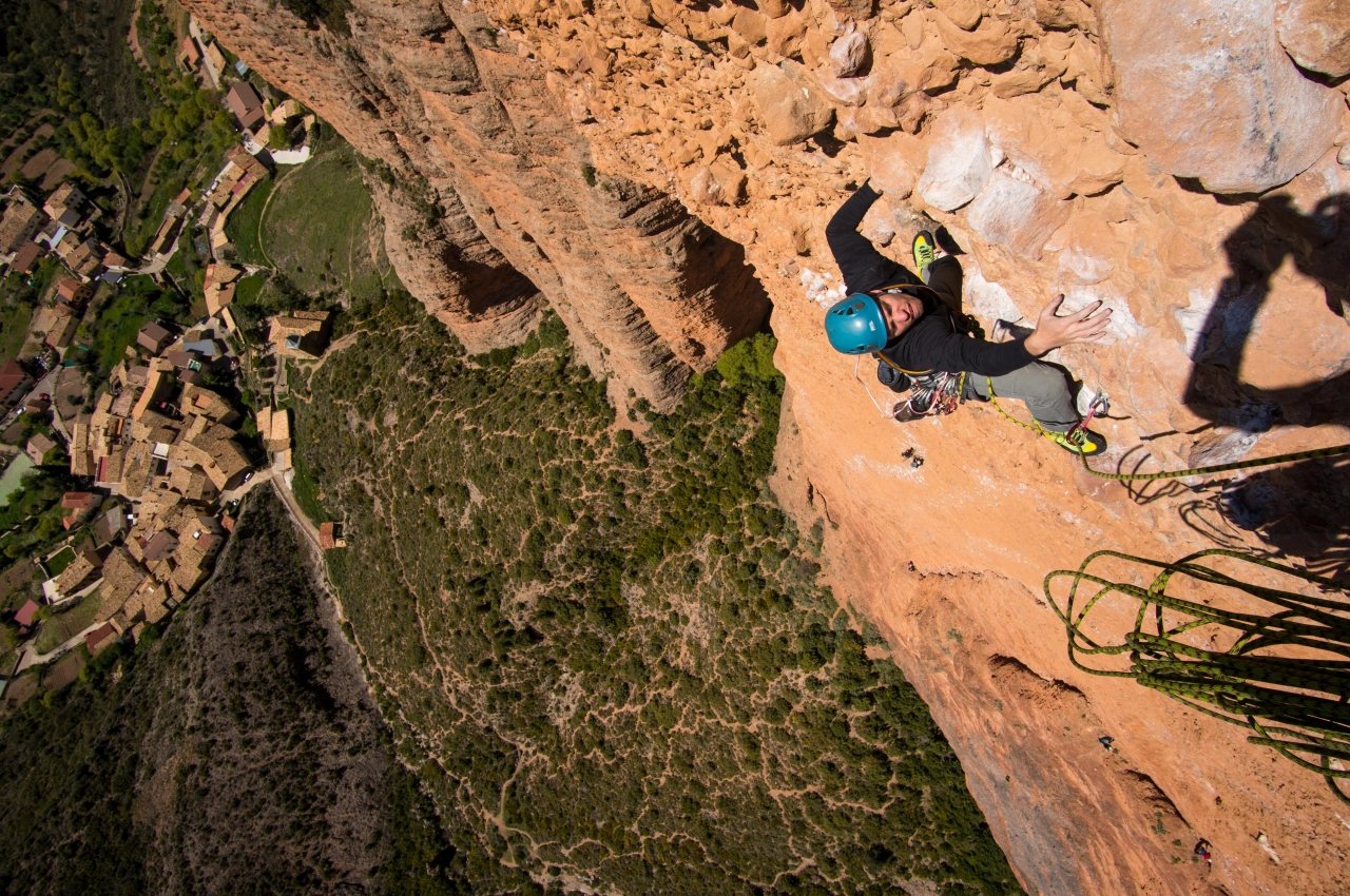 A picture from Mallos de Riglos by Jan Zahula