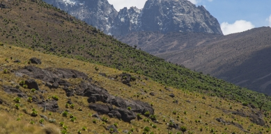 A picture from Mount Kenya by Jase Wilson