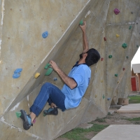 Ibex Club Bouldering Wall by Zaheer  Ahmad