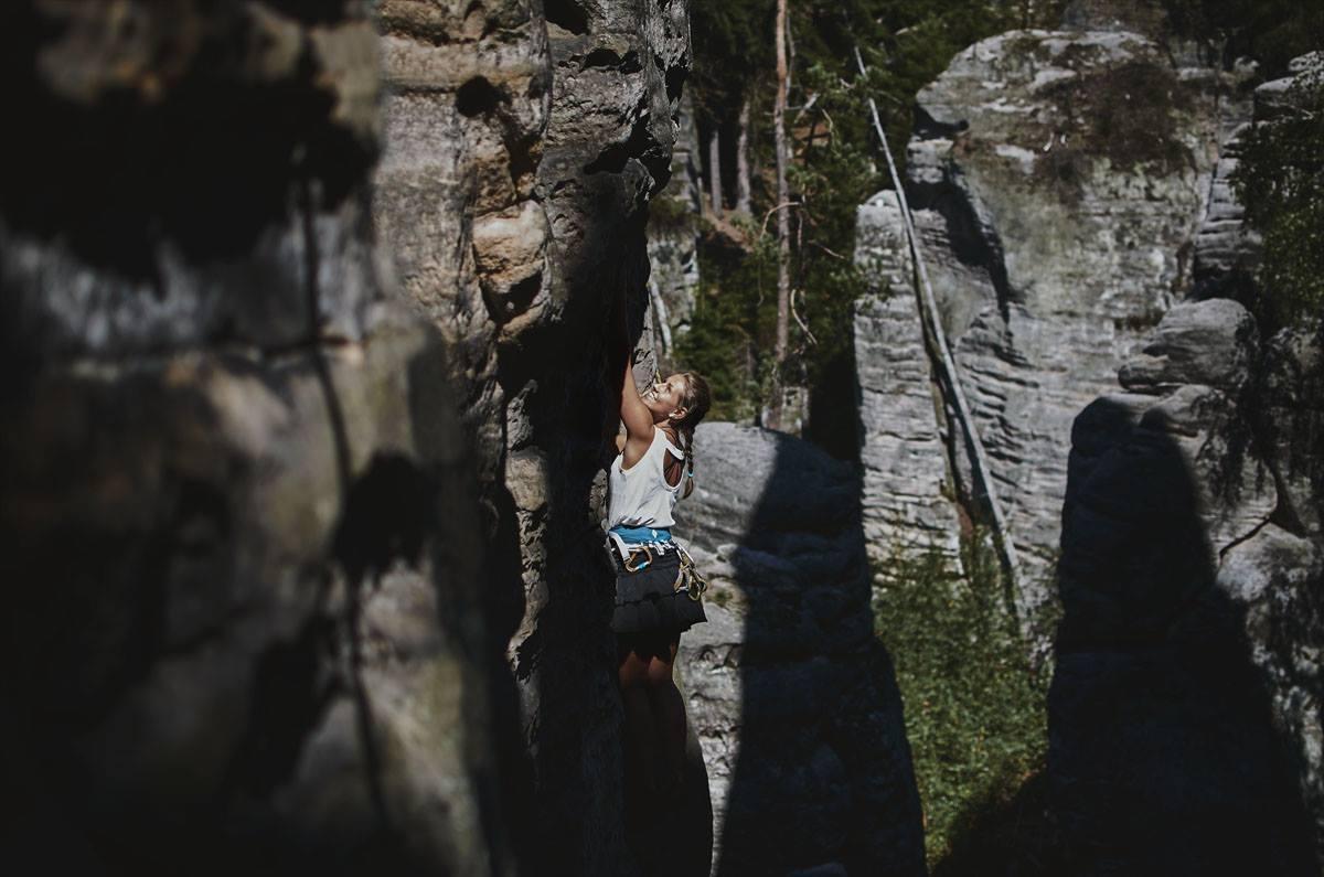 A picture from Prachovské Skály by Nikolka Bartošová
