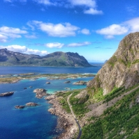 Lofoten Islands by Vertikale Bewegung – Viola