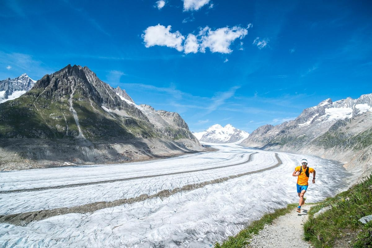 A picture from Aletschgletscher by Dynafit