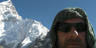 A picture from Everest Region by Martin Crouch
