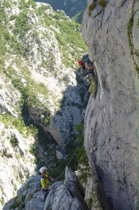 A picture from National Park Paklenica by Sara Sedej