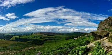 A picture from Stanage Edge by Emma Harrington