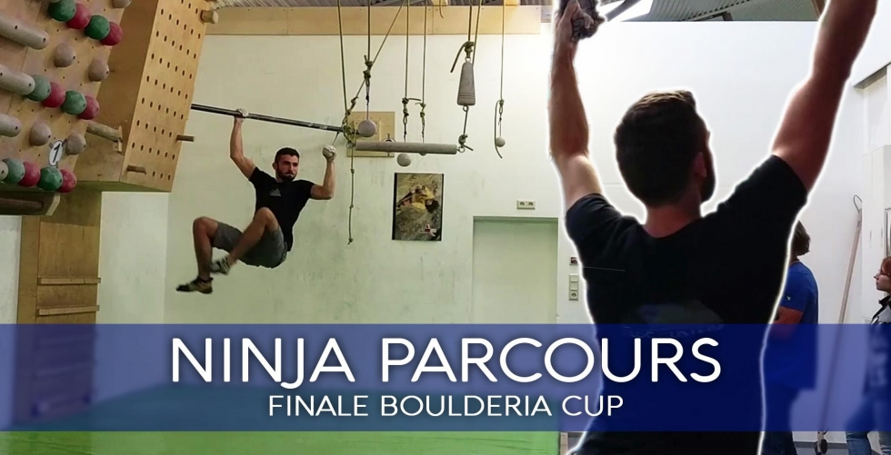 NINJA PARCOURS | Final course at the Boulderia Summer-Cup in Boulderia