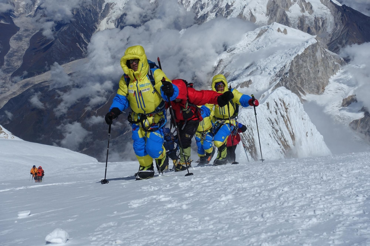 A picture from Mt. Manaslu by Luis Stitzinger