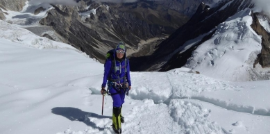 A picture from Mt. Manaslu by Alix von Melle
