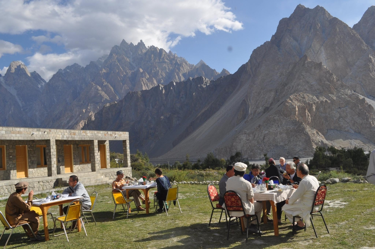 A picture from passu cathaderals in upper Hunza pakistan by Karim Meharban