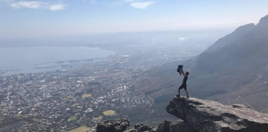 A picture from Table Mountain by Pim van Daelen ⚡️