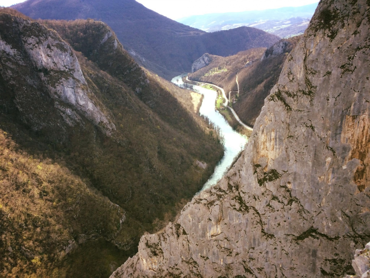A picture from Tijesno Canyon / Bosnia and Herzegovina by Domagoj Pavin