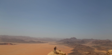 A picture from Wadi Rum by Jase Wilson