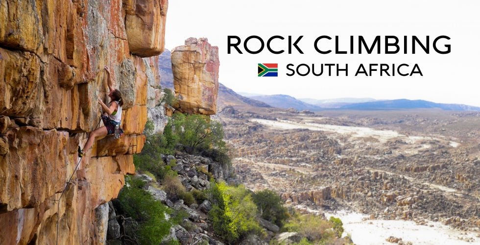 The Rock Climbing Experience in South Africa in Cederberg