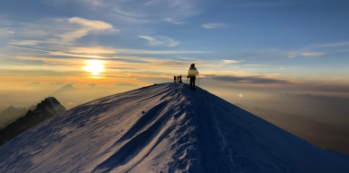 A picture from Mont Blanc / Monte Bianco by Explore-Share