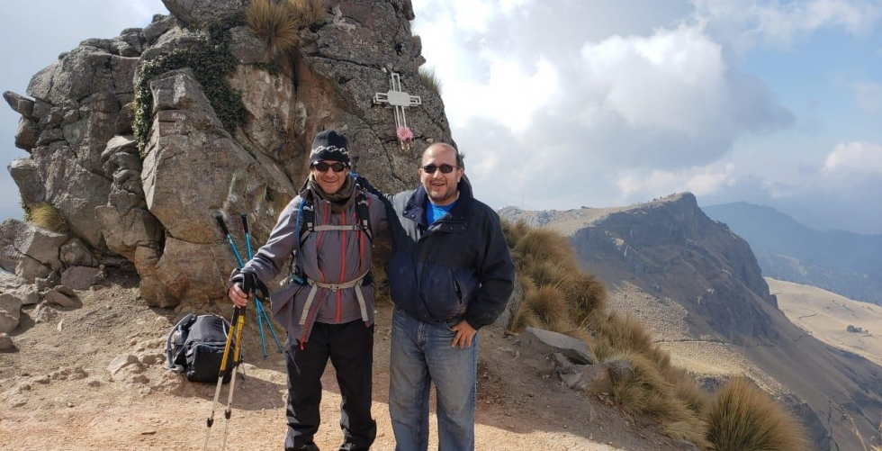 First attempt in Volcan Iztaccihuatl