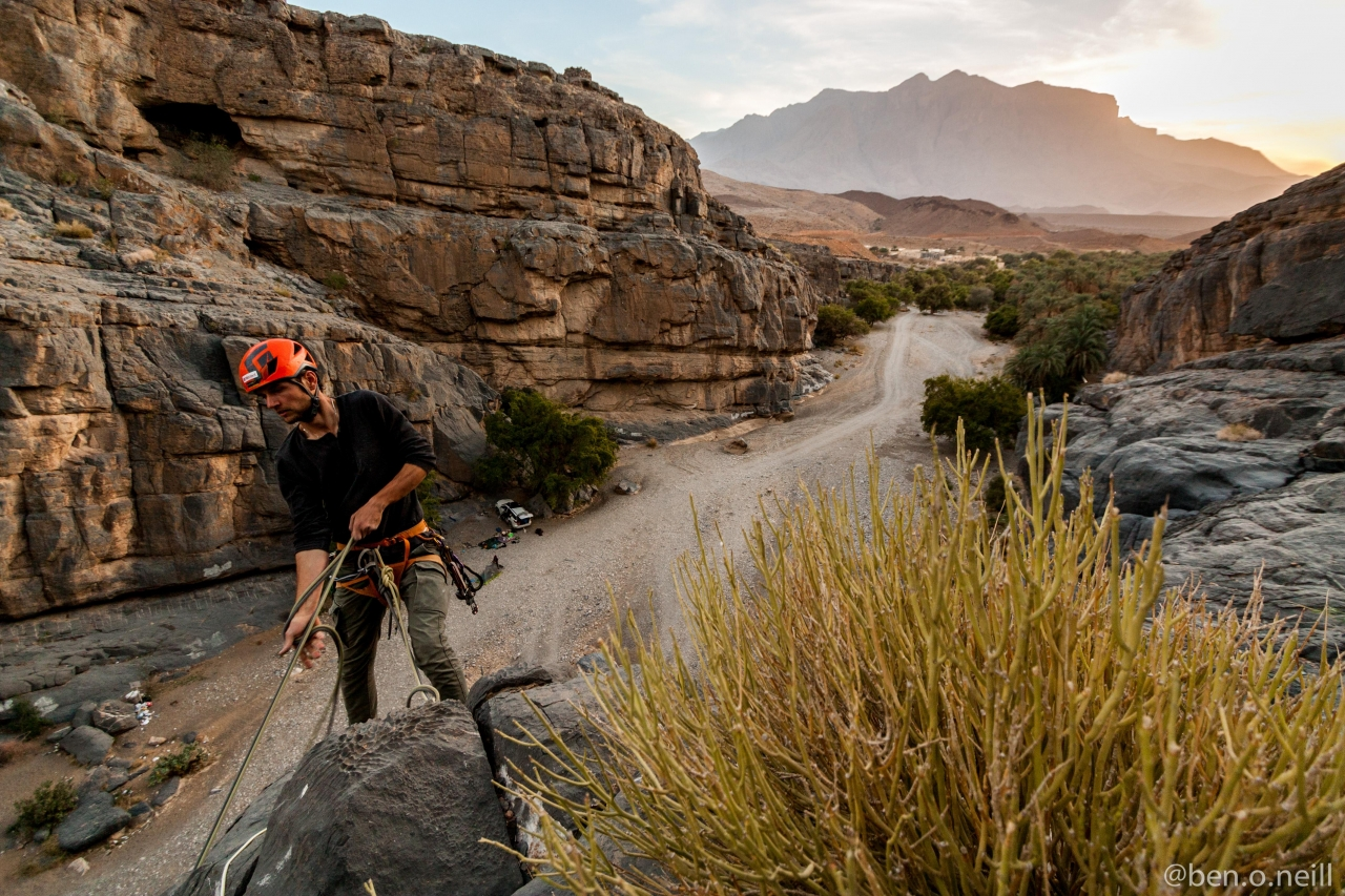 A picture from Wadi Damm by Ben O'Neill