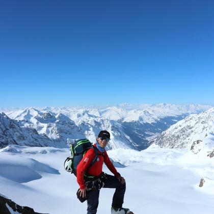 Silvretta Mountain Range by Etienne Bernard