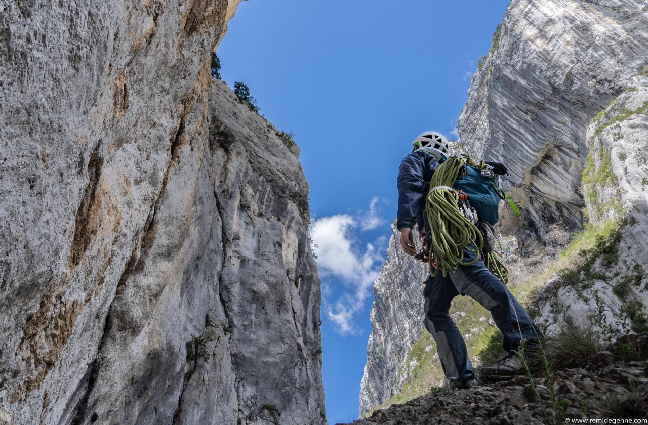 A picture from Gorges du Verdon by Rémi Degenne