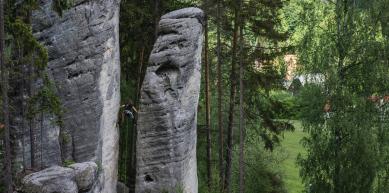 A picture from Adršpach-Teplické Skály by Jan Zahula