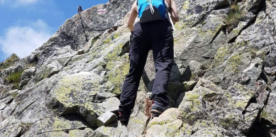 A picture from Tatry, Orla Perć by Noémi Vigh