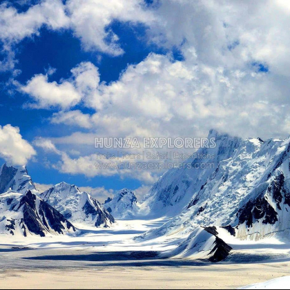 Snow lake Pakistan by Hunza Explorers