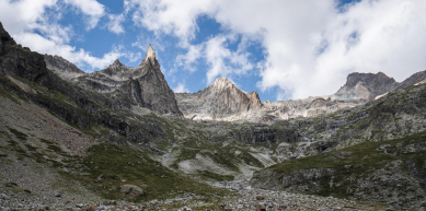 A picture from Aiguille Dibona by Jan Zahula