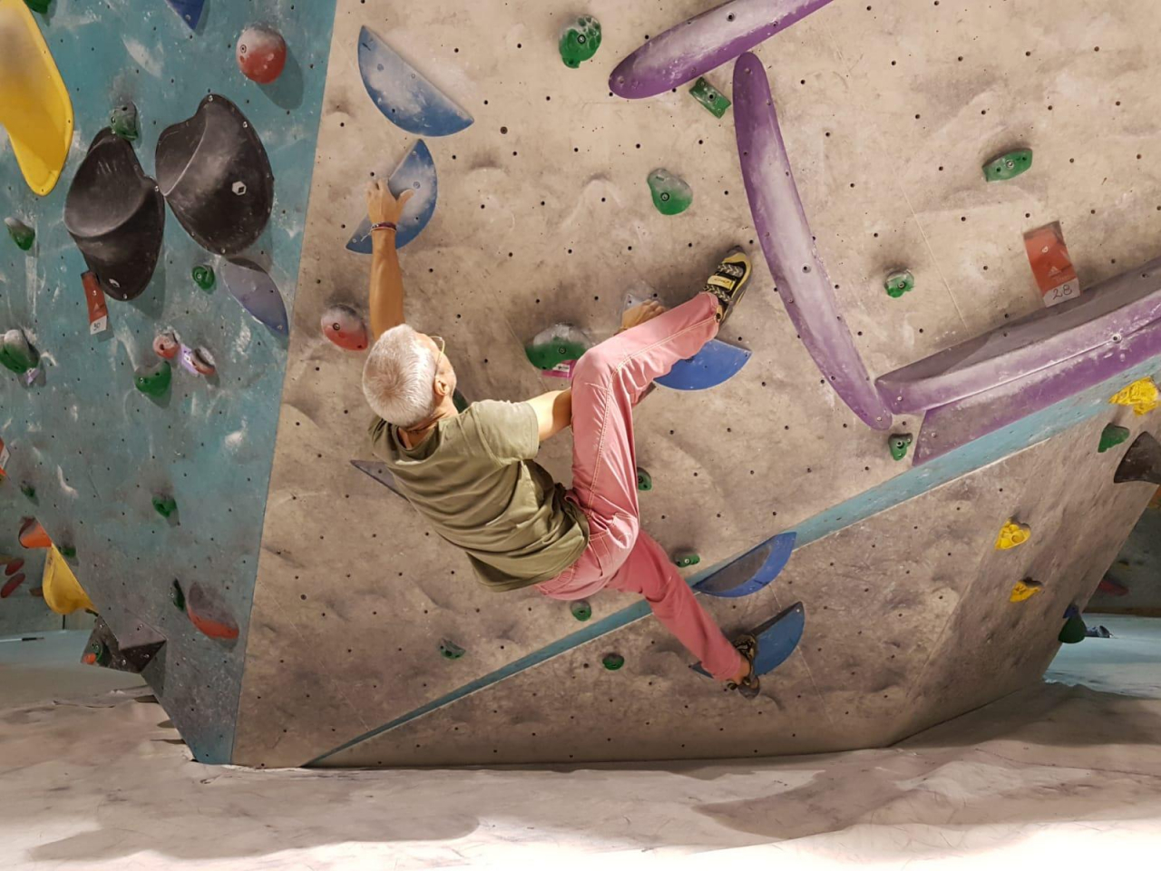 A picture from Plus Climbing Koper by Ricky Tram