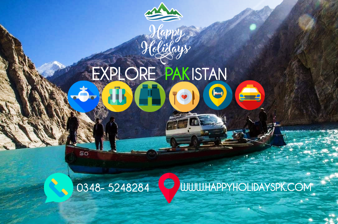 A picture from Hunza Valley by Happy Holidays PK Pakistan's No.1 Tour Planner
