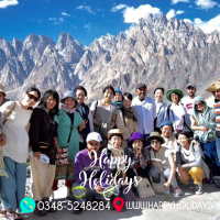 passu cathaderals in upper Hunza pakistan by Happy Holidays PK Pakistan's No.1 Tour Planner