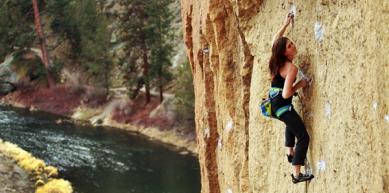 A picture from Smith Rock by La Sportiva