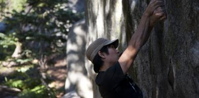 A picture from Castle Peaks, CA by island climbing