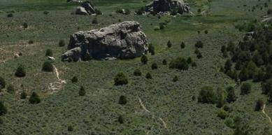 A picture from City of Rocks National Reserve, Idaho by Howard Greene