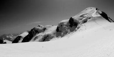 A picture from Mont Blanc / Monte Bianco by Wojciech Kucharski