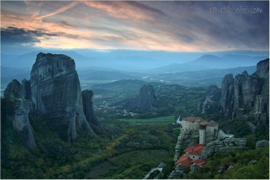 A picture from Meteora by E.Sofos Fotografía