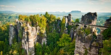 A picture from Bastei by Ron Heinold