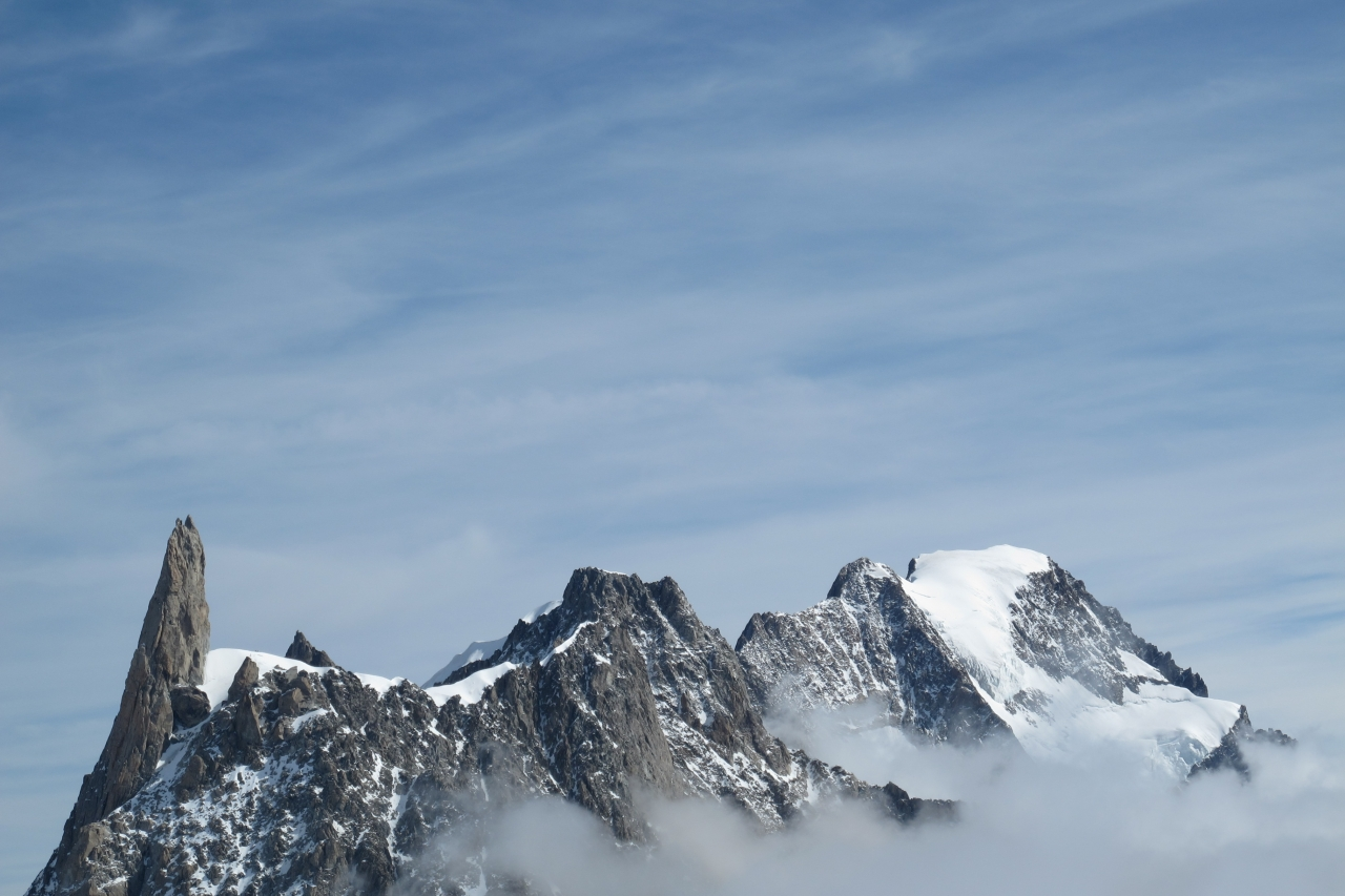 A picture from Grandes Jorasses by Camillo Bussolati